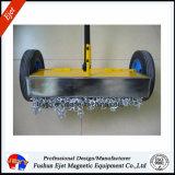 Balai magnétique industriel de qualité supérieur avec le plateau propre rapide