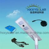 Водоустойчивое IP65 все в одном интегрированный солнечном напольном светлом солнечном уличном свете 40W
