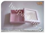 Коробка роскошной изготовленный на заказ косметики подарка упаковывая бумажная
