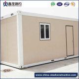 기숙사를 위한 강철 프레임을%s 가진 움직일 수 있는 조립식 콘테이너 집