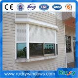 Sicherheit motorisiertes Aluminiumrollen-Blendenverschluss-Fenster