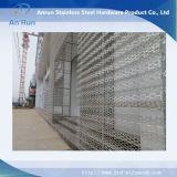 Folha perfurada de alumínio para painel único de alumínio decorativo
