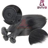 Человеческие волосы бразильянина девственницы верхнего качества 100% шелковистые прямые