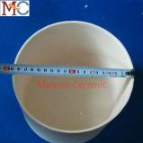 Cadinho cerâmico da alumina 99.7% do alto densidade 95%