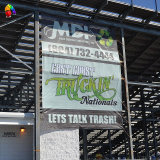 Custom Outdoor PVC Vinyl Digital Printing Street Sign Mesh Banner