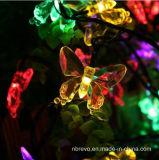 света шнура бабочки 20LED 16FT солнечные приведенные в действие (RS1018)