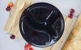 Casella di plastica a gettare di imballaggio per alimenti di figura rotonda