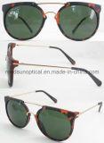 Óculos de sol plásticos pretos, óculos de sol plásticos baratos, óculos de sol maiorias por atacado de comércio da forma da compra (SP474005-1)
