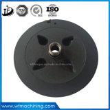Peças da carcaça do ferro de molde do ferro cinzento para a roda de lustro forjada & de Casted