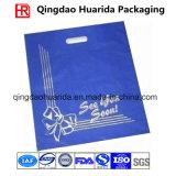 Изготовленный на заказ напечатанные пластичные умирают хозяйственная сумка ручки отрезока