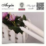 Bougies blanches de ménage fabriquées par Aoyin Factory