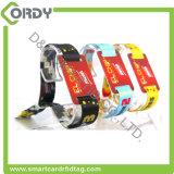 Wristband EV1 tecido RFID Ultralight descartável de MIFARE