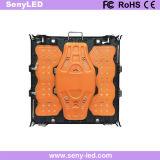 Schermo dell'interno di colore completo LED della parete della visualizzazione della priorità bassa di fase P5 (640MMX640mm l'alluminio della pressofusione)