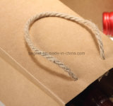 Sacchetto del regalo del documento del sacchetto della bottiglia di vino della carta kraft della maniglia