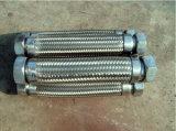 Les couplages hommes-femmes de Camlock de brides de garnitures ont assemblé le boyau de métal flexible d'acier inoxydable
