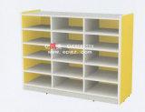 Corner를 위한 아이들 Wooden Library Wooden Shelf