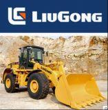 Precio caliente del cargador de la rueda de Liugong 5t Clg855/856 de la venta