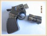Изготовленный на заказ привод вспышки USB формы пушки металла (EP037)