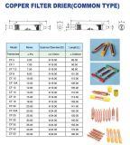 Dessiccateur de filtre de tube de cuivre de congélateur de réfrigération