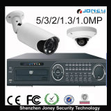 HD Security Camera System Support P2p, acesso remoto por celular, PC (IPC + NVR)