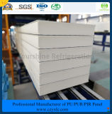 ISO, SGS одобрил 100mm выбитую алюминиевую панель сандвича Pur (Быстр-Приспособьте) для замораживателя холодной комнаты холодной комнаты