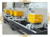 Machine de soudure sans joint de porte de guichet de PVC, machines sans joint principales de soudure du guichet deux de PVC pour la machine de guichet de PVC de profil de couleur
