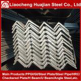 Barra d'acciaio di angolo delicato laminato a caldo del carbonio Ss400 usata su costruzione