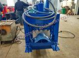 油圧カラー機械を形作る鋼鉄屋根のリッジの帽子ロール