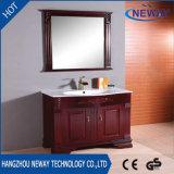 Governo di stanza da bagno di legno diritto del pavimento di alta qualità con lo specchio