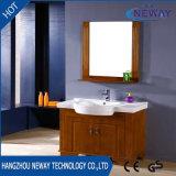 側面のキャビネットと現代卸し売り木製の浴室の虚栄心