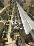 캠 또는 도비 흘리기를 가진 두 배 분사구 물 분출 편직기 직물 기계
