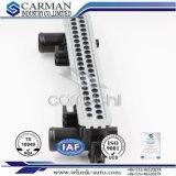 Feuille de tube pour la feuille de croix de radiateur de véhicule