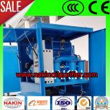 La máquina de filtración del petróleo del transformador del vacío, petróleo purifica recicla el equipo