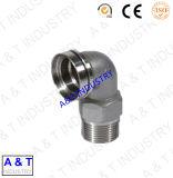 Couplage d'ajustage de précision de pipe d'acier inoxydable avec la qualité