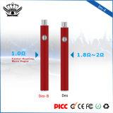 Grosse Großverkauf 510 Ecig Batterie des Dampf-350mAh nachladbare