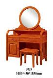 Aparelhador de madeira, jogo da mobília do quarto, aparelhador com espelho (6609)