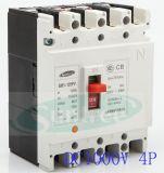 C.C MCCB DC1000V 2p 3p 4p de Sm1 Solar