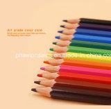 matite di plastica di colore 12PCS nella figura esagonale con l'estremità affilata