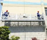 Construction suspendue de plate-forme de nettoyage de guichet d'échafaudage