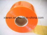 Tenda di plastica costolata gialla della striscia dell'Anti-Insetto
