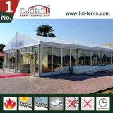 200 الناس ألومنيوم فسطاط خيمة مع زجاجيّة [أبس] جدر