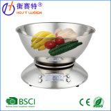 Escala de múltiples funciones del alimento de la cocina de Digitaces con el tazón de fuente movible 2.15L