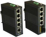 Breiter Betriebstemperatur-Unmanaged Ethernet-Schalter