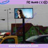 P6, P8, scheda fissa esterna del segno dello schermo di visualizzazione del LED P10 per fare pubblicità