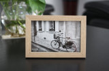 Natural Wooden Photo Frame, Can Do Logo on
