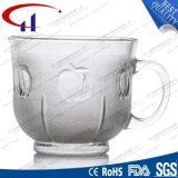 220ml de nieuwe Mok van de Koffie van het Glas van het Ontwerp (CHM8121)