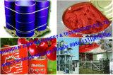220L Tambor de acero Embalado Pasta de tomate Brix 28-30% / 36-38%
