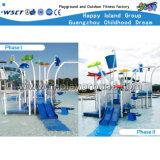 새로운 디자인 아이들 옥외 물 운동장 활주 장비 HD-Cusma1605-Wp006