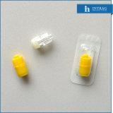 Heparineの使い捨て可能で黄色い帽子