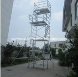 MaintenanceのためのSGS Approved 7m Mobile Aluminum Scaffold
